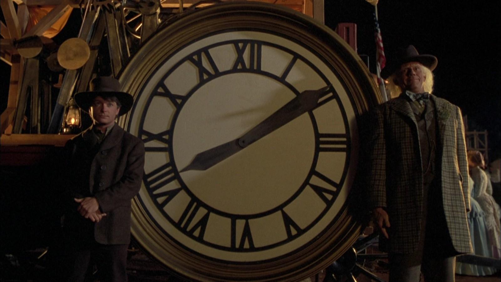 03:45 — «Назад в будущее 3»